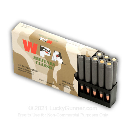 Image 6 of Wolf .30-06 Ammo