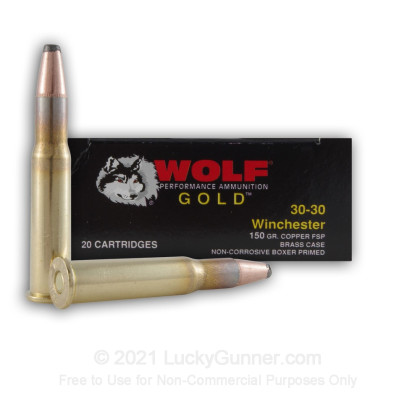 Image 3 of Wolf .30-30 Winchester Ammo