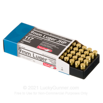 Image 3 of Aguila 9mm Luger (9x19) Ammo