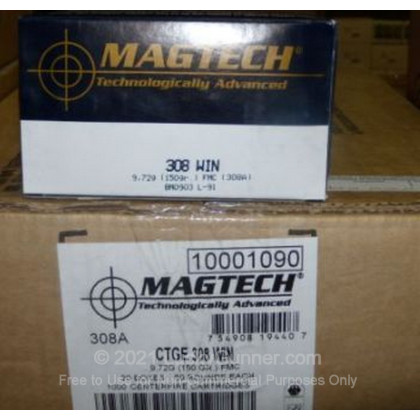 Image 2 of Magtech .308 (7.62X51) Ammo
