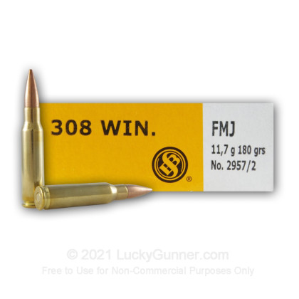 Image 5 of Sellier & Bellot .308 (7.62X51) Ammo