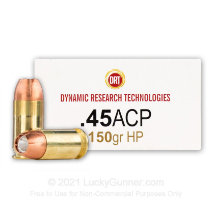 Image 1 of Dynamic Research Technologies .45 ACP (Auto) Ammo
