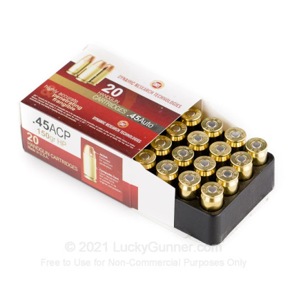 Image 3 of Dynamic Research Technologies .45 ACP (Auto) Ammo
