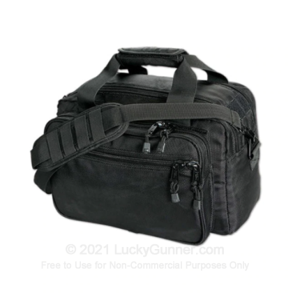 Large image of Side-Armor Deluxe Range Bag - Uncle Mike's - Black