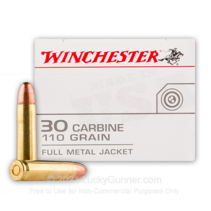 Image 2 of Winchester 30 Carbine Ammo