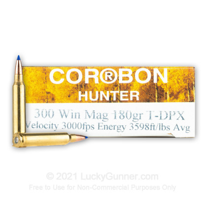 Image 1 of Corbon .300 Winchester Magnum Ammo