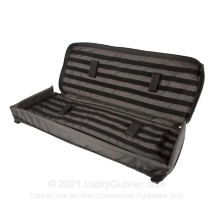 "Large image of 45"" Foundation Rifle Case - Blackhawk - Black/Gray"