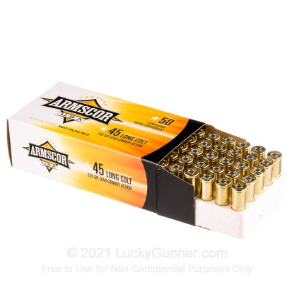 Image 3 of Armscor .45 Long Colt Ammo