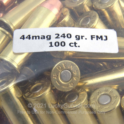 Image 9 of Military Ballistics Industries .44 Magnum Ammo