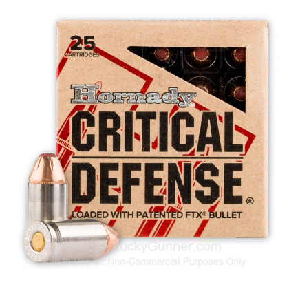 Large image of Premium 9mm Makarov (9x18mm) Defense Ammo For Sale - 95 gr JHP Critical Defense Ammunition For Sale - 25 Rounds