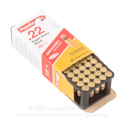 Image 3 of Aguila .22 Short Ammo