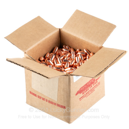Large image of Berry's .38/.357 Cal Plated Bullets For Sale - .38/.357 Cal 158gr RNDS