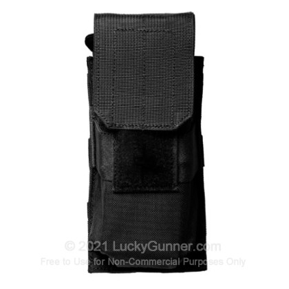 Large image of Single Magazine Pouch Belt Loop AR 15 Blackhawk Black For Sale