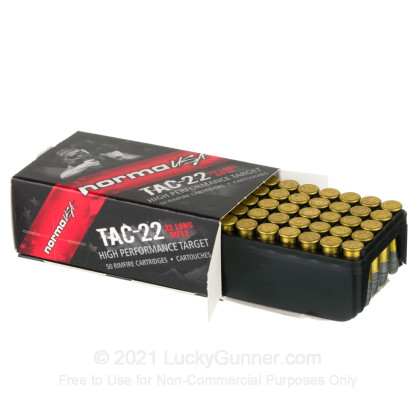 Image 3 of Norma .22 Long Rifle (LR) Ammo