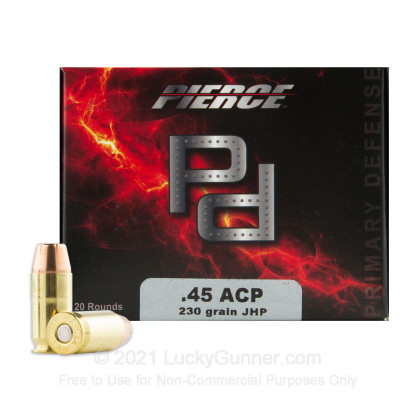 Image 2 of Pierce Performance Ammunition .45 ACP (Auto) Ammo