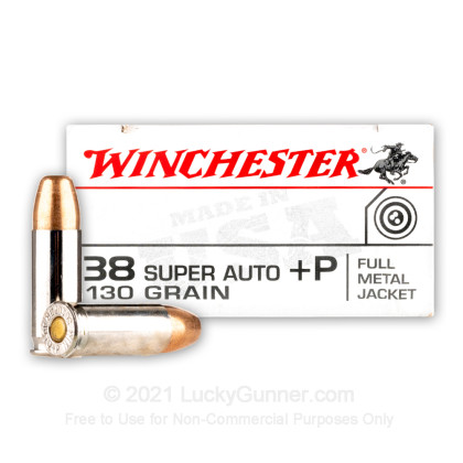 Image 1 of Winchester .38 Super Ammo