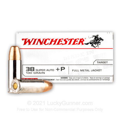 Image 2 of Winchester .38 Super Ammo