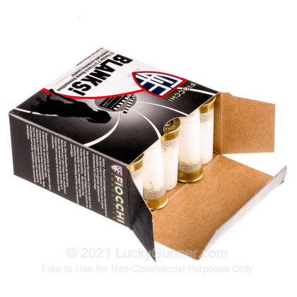 """Large image of Cheap12 Gauge Blanks For Sale - 2-3/4"""" Blank Rounds in Stock by Fiocchi - 25 Rounds"""