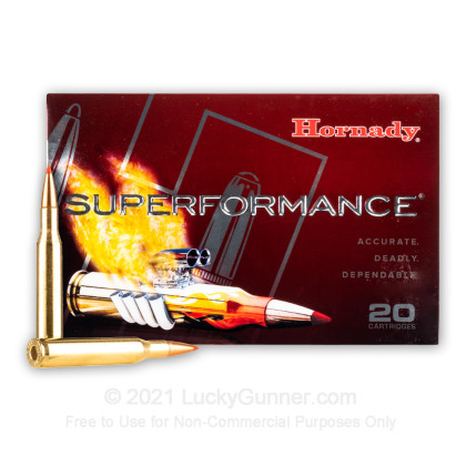 Large image of 270 Win Ammo In Stock  - 130 gr Hornady SST Polymer Tip Ammunition For Sale Online