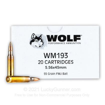 Image 1 of Wolf 5.56x45mm Ammo