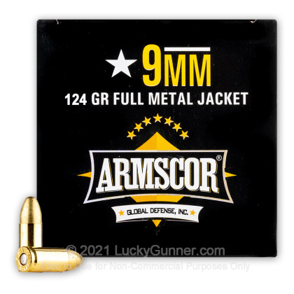 Image 2 of Armscor 9mm Luger (9x19) Ammo
