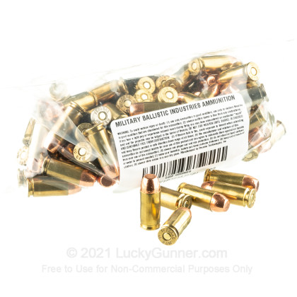 Image 3 of Military Ballistics Industries .40 S&W (Smith & Wesson) Ammo