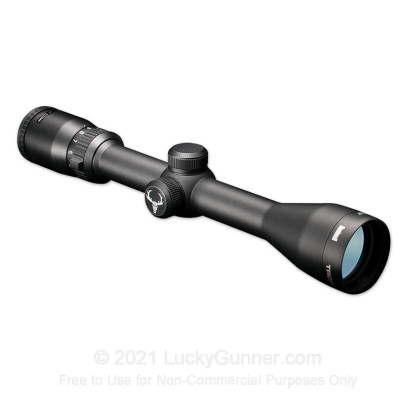 Large image of Bushnell Trophy XLT Rifle Scope for Sale - 3-9x - 40mm - 733945 - Mil-Dot Reticle - Black Matte - In Stock - Luckygunner.com
