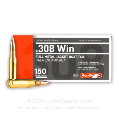 Image 1 of Aguila .308 (7.62X51) Ammo