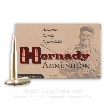 Large image of Premium 270 Ammo For Sale - 140 Grain SPBT Ammunition in Stock by Hornady InterLock - 20 Rounds