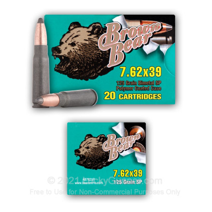 Image 6 of Brown Bear 7.62X39 Ammo