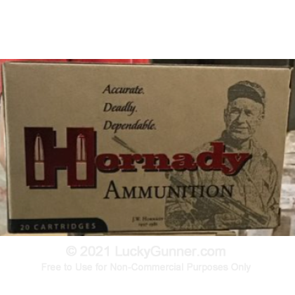 Large image of Premium 243 Ammo For Sale - 87 Grain V-MAX Ammunition in Stock by Hornady Custom - 20 Rounds