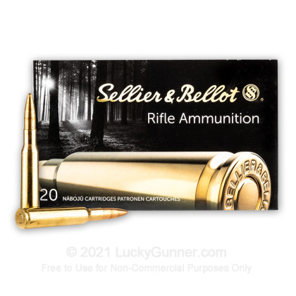 Image 2 of Sellier & Bellot 7x57 Mauser Ammo