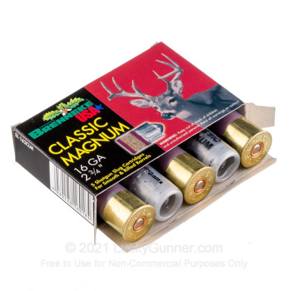 Image 3 of Brenneke Slugs 16 Gauge Ammo
