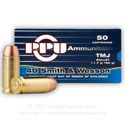 Image 1 of Prvi Partizan .40 S&W (Smith & Wesson) Ammo