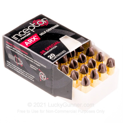 Image 3 of Inceptor .38 Special Ammo