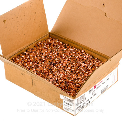 Large image of Hornady 9mm Bullets For Sale - 9mm 115 Grain HAP bullets by Hornady - 3000