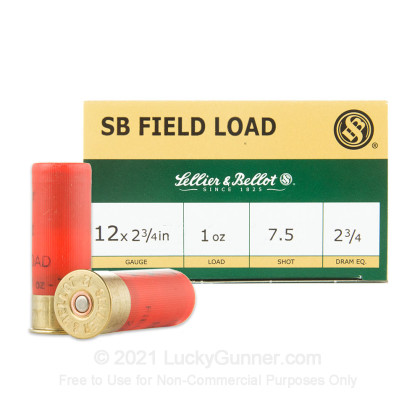 Image 1 of Sellier & Bellot 12 Gauge Ammo