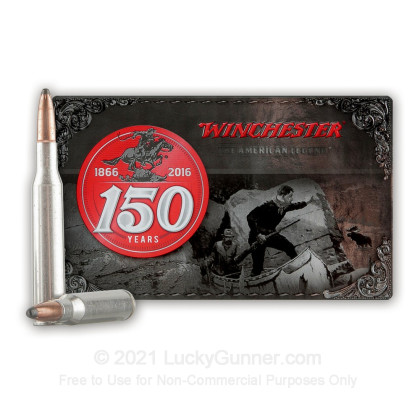 Large image of Cheap 270 Ammo For Sale - 150 Grain PP Ammunition in Stock by Winchester 150yr Commemorative - 20 Rounds