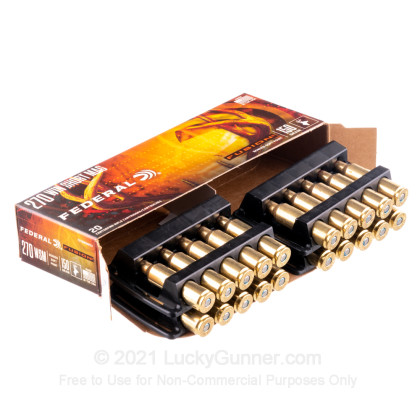 Image 3 of Federal .270 Winchester Short Magnum Ammo