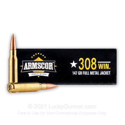 Image 2 of Armscor .308 (7.62X51) Ammo