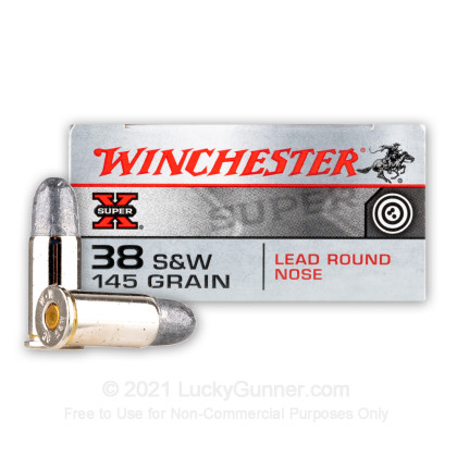 Image 1 of Winchester .38 Smith & Wesson Ammo