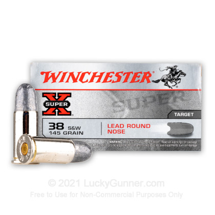 Image 2 of Winchester .38 Smith & Wesson Ammo