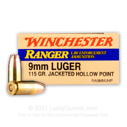 Image 1 of Winchester 9mm Luger (9x19) Ammo