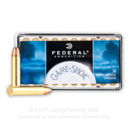 Image 2 of Federal .22 Magnum (WMR) Ammo