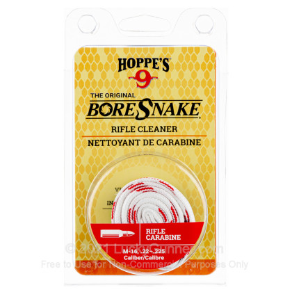 Large image of Hoppe's BoreSnakes for Sale - 22 LR, 223 Rem, 5.56x45 - Hoppe's BoreSnake For Sale