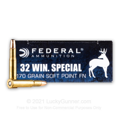 Image 1 of Federal .32 Winchester Special Ammo