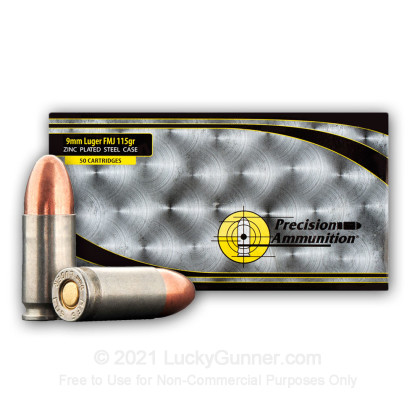 Image 4 of MFS 9mm Luger (9x19) Ammo
