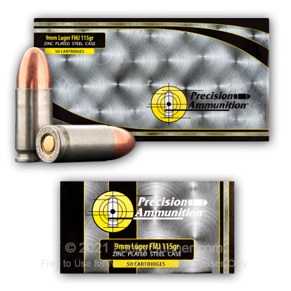 Image 5 of MFS 9mm Luger (9x19) Ammo