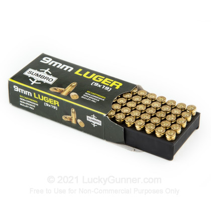 Image 6 of Sumbro 9mm Luger (9x19) Ammo