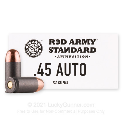 Image 1 of Red Army Standard .45 ACP (Auto) Ammo